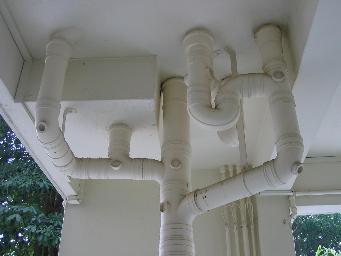 Water wastewater treatment resources picture gallery of sewer sewer pipe fittings from 2nd floor drop down to 1st floor sciox Images